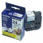 Brother TZ-251 24MM BLACK ON WHITE ORIGINAL BROTHER P-TOUCH
