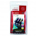 Canon CLI-521 MultiPack, 3 cartuse cerneala C+M+Y