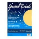 CARTON METALIZAT 120G/MP A4 20 COLI SPECIAL EVENTS FAVINI AURIU