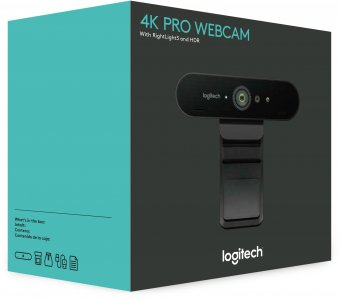 LOGITECH Brio Webcam 4K Ultra HD 30fps
