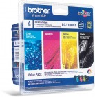 Brother LC1100HYVAL Pachet cartuse BK+C+M+Y (Hy)