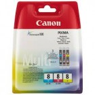 Canon CLI-8 Multipack, cartuse C+M+Y, 3 x 13ml