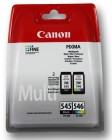 Canon PG545+CL546 pachet cartuse Black (8ml) + Color (9ml), BEST DEAL