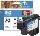 HP C9409A Matte Black and Red Printhead (70)