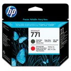 HP CE017A Printhead matte black/chromatic red (771)