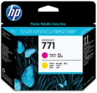 HP CE018A Printhead magenta/yellow (771)
