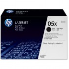 HP CE505XD Toner Black, Dual Pack 2x6500 pag, Transport GRATUIT Bucuresti