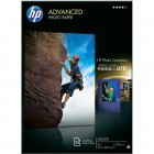 HP Q5456A Advanced Glossy Photo Paper 250 g,25 coli,A4