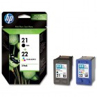 HP SD367AE pachet cartuse Black + Color (21+22)