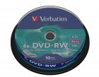Verbatim DVD-RW 4X 4,7GB (43552), set/10 bucati spindle